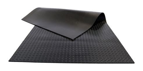 90 & 110 Defender County - Heavy Duty Accoustic Load Area Mat