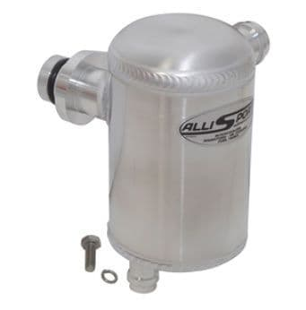 Aluminium engine breather oil catch tank