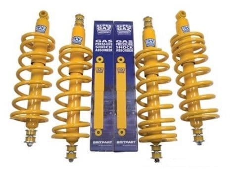 Britpart Super Gaz Suspension Kit - Heavy Duty - Standard Height