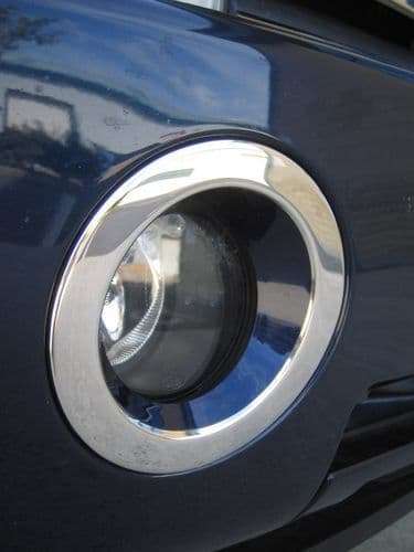 Chrome Fog Lamp Surrounds ( Stainless cover ) Range Rover L322