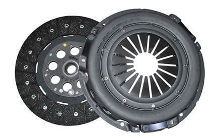 Def/Disco 2 TD5 -  Valeo Clutch Kit (plate and cover, less bearing) - DA5550G