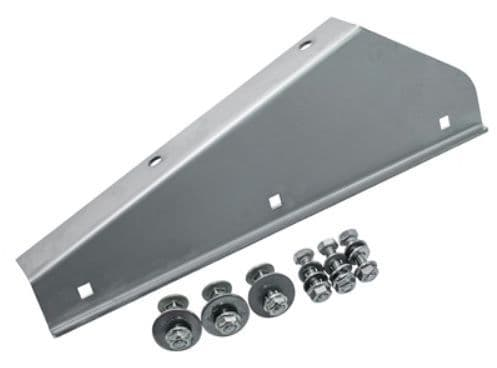 Defender 90/110/130  Stainless Steel Mudflap Bracket - Front