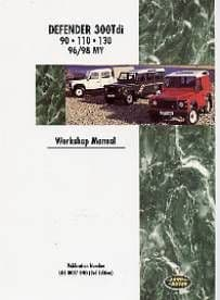 Defender 90/110 Diesel Workshop Manual 1996 - 1998