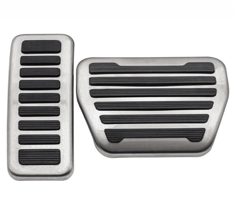 Defender 90/110 Premium Pedal Covers - Excludes X