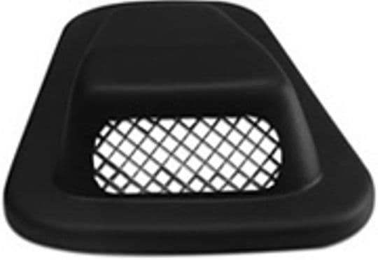 Defender Air Scoop - O/S R/Hand Low Profile with Grille - LR106BGO/S
