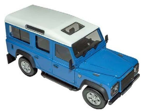Defender - Grey Blue 1:24 Scale Model