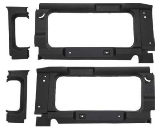 Defender Rear Window Surrounds
