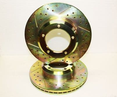 Discovery 1 / Defender/ RRC Front Brake Discs - Vented