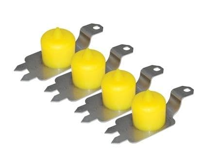Discovery 2 - Front and Rear Extended Bump Stops - DC7013