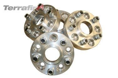Discovery 2 & Range Rover P38 30mm alloy wheel spacers
