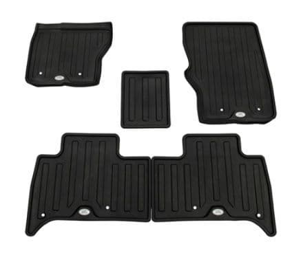 Discovery 5 - Floor Mat Set - LHD - Rubber - Ebony