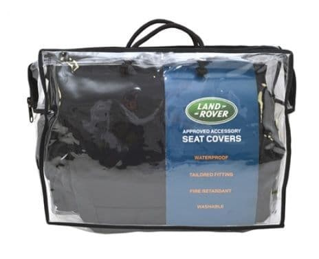 Discovery 5 - Waterproof Seat Covers - Front - Black