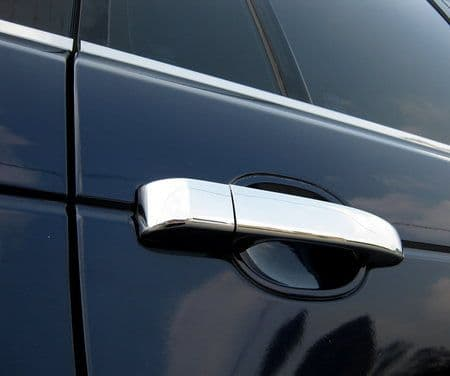 Door Handle Covers - Chromed Plastic 9pc kit - Range Rover L322
