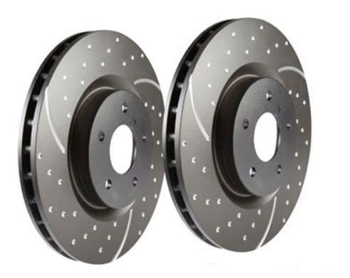 EBC Performance Solid Brake Discs - Rear PAIR