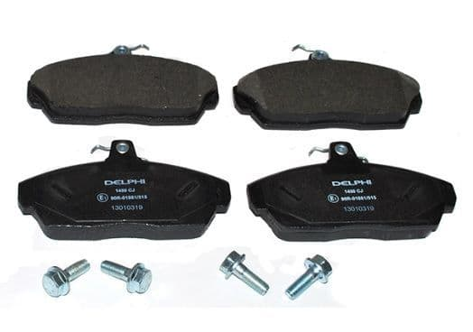 Freelander 1 Front Brake Pads up to 2000