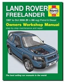 Freelander 1 - Haynes Owners Workshop Manual