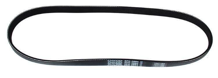 Freelander 1 TD4 Dayco Air Conditioning Belt From 2002 - PQS000180