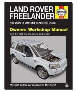 Freelander 2 (Nov 2006-2014) 56-64 Diesel - Haynes Owner Workshop Manual