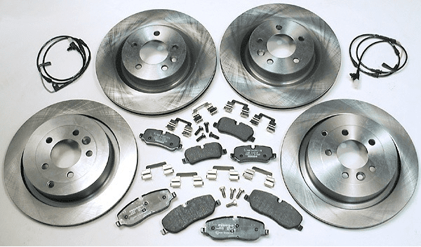 Front Brake Disc and Pad Kit