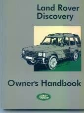Land Rover Discovery Owners Handbook