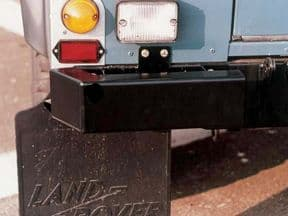 Land Rover Series and Defender Bumperettes - PAIR
