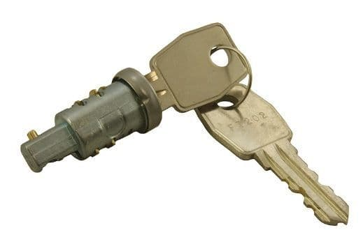 Lock Set (lock barrel x1 & keys x 2) - RTC3022