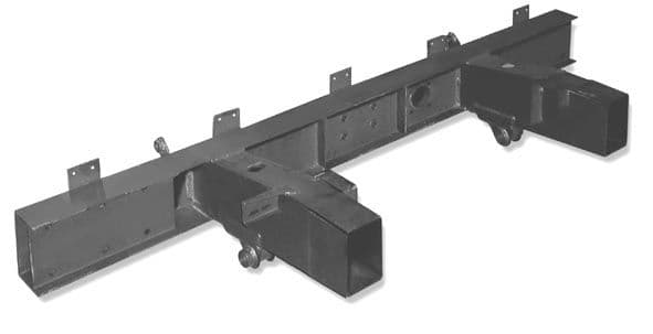 Military/Lightweight SWB Quarter Chassis [With Spring Hangers]