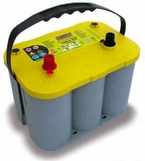 Optima Battery - YELLOW TOP - Winch Battery
