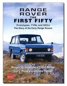 Range Rover Book - The First 50
