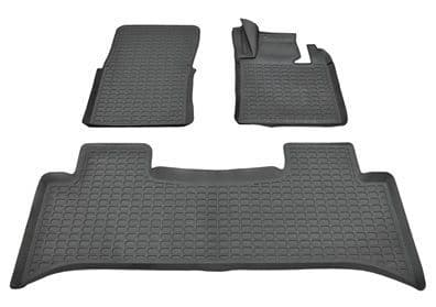 Range Rover L322 - Set of Front and Rear Rubber Over Mats - DA4808