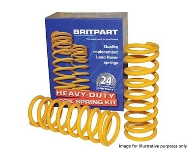 Rear Heavy Duty Standard Height Springs 110/130 (PAIR) - DA4279