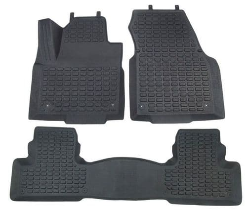 Rubber Fitted Over Mats - LHD - Front & Rear