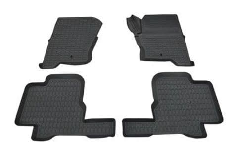 Rubber over mat set