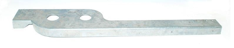 Series 2/2A/3 Rear Corner Galvanised Flashing - NEARSIDE