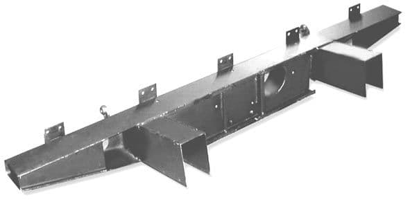 Series 2/2A/3 SWB and LWB Rear Crossmember With Extensions
