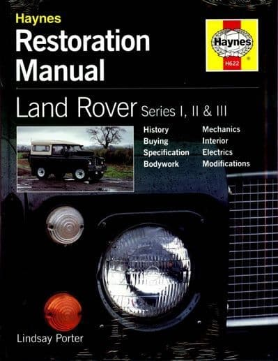 Series I, II, IIA & III 1948 - 1985 - Restoration Manual