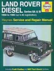 Series IIA & III Diesel 1958 - 1985 - Service & Repair Manual