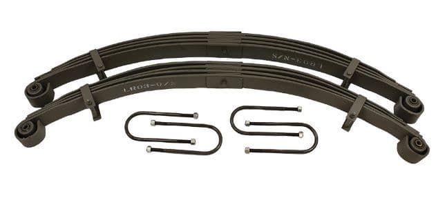 Series Parabolic Springs - pair - rear
