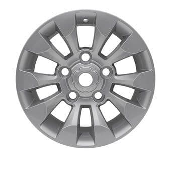 Set of 4 Silver Sawtooth Style Alloy Wheels - 18""