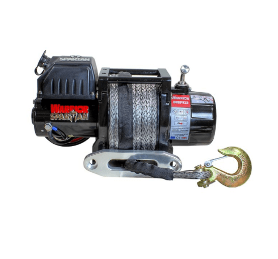 Spartan 6000 Electric Winch - Synthetic