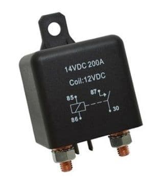 Split Charge Relay 200A - Heavy Duty