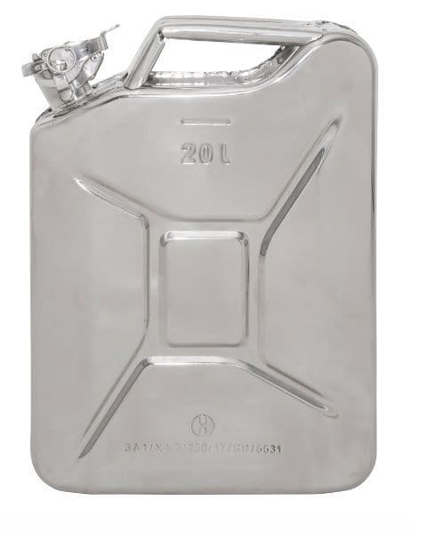 Stainless Steel 20 litre Jerry Can