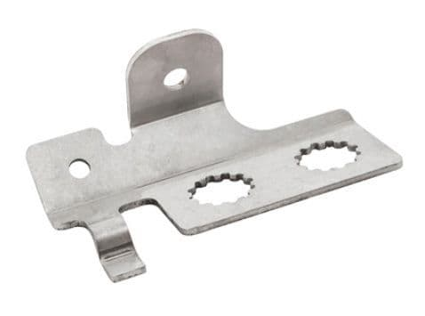 Stainless Steel Brake Pipe Bracket - Rear