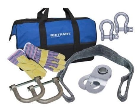 Starter Winch Recovery Kit with Jate Rings