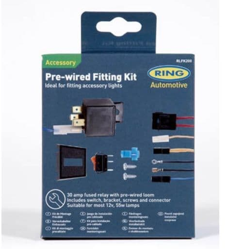 Universal Wiring Kit (For wiring a pair of lights) 30 amps