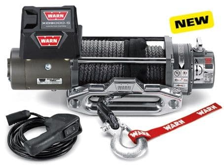 WARN XD9000 Winch With Synthetic Rope - 88550