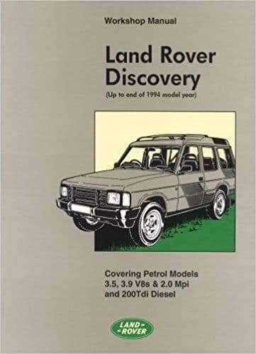 Workshop Manual all models 1990 to 1994
