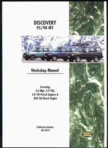 Workshop Manual all models 1995 to 1998 [2]