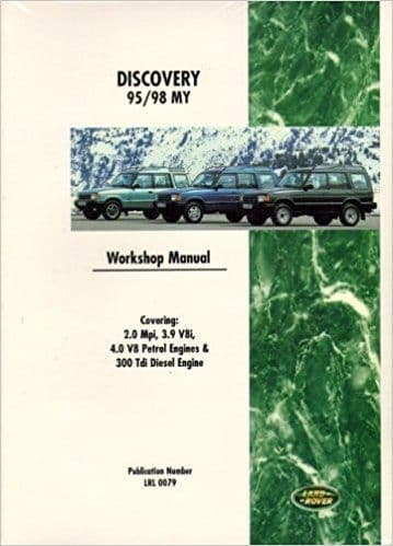 Workshop Manual all models 1995 to 1998 [3]
