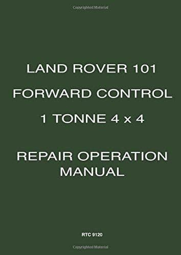 Workshop Manual Military 101 I Tonne Forward Control Code